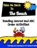 Eight Beach-Themed Genre and ABC Order Activities