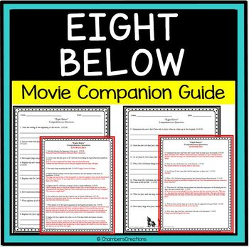 Eight Below- Movie Guide Questions