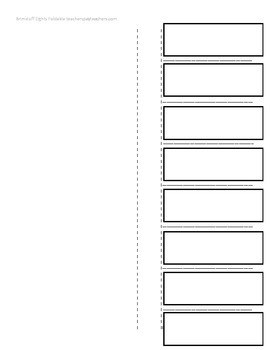 Eight-Category Foldable