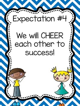 Eight Classroom Expectations {Stick Kids}