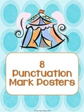 Eight Colorful Punctuation Posters
