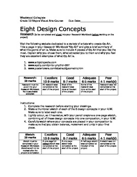 Eight Design Concepts
