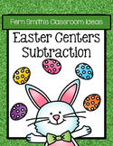 Easter Subtraction Math Center Games