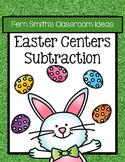 Easter Math Center Subtraction Bundle