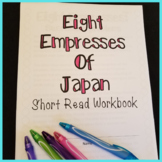 Eight Empresses of Japan Short Read with Summary Workbook