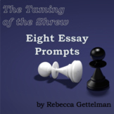 Eight Essay Prompts for The Taming of the Shrew by William Shakespeare
