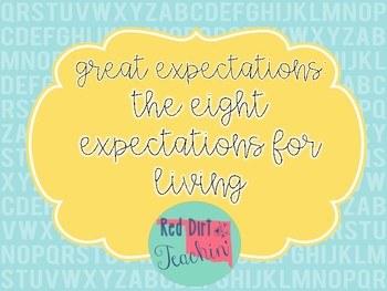 Eight Expectations for Living