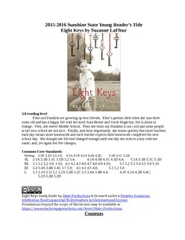 Eight Keys Chapter 1-3 Study Guide S. LaFleur with Answers