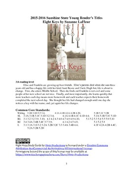 Eight Keys Study Guide Chapter 1-8 with Answers