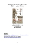 Eight Keys Suzanne LaFleur Test Package with Answers