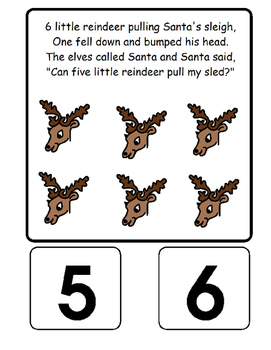 Eight Little Reindeer