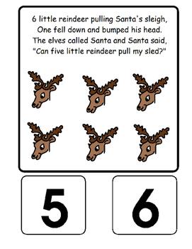 Eight Little Reindeer