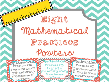 Eight Mathematical Practices Posters