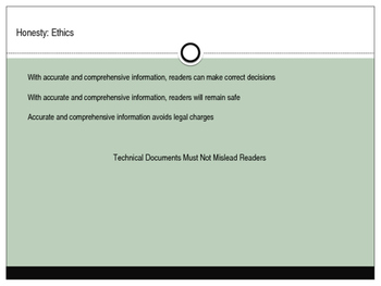 Eight Measures of Excellence as Listed in Markel's Technical Communication