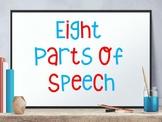 Eight Parts of Speech Bundle