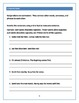 Eight Parts of Speech Grammar Worksheets