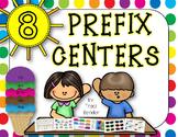 Eight Prefix Centers {re, un, pre, dis, mis}