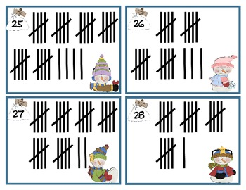 """Eight """"Read the Room"""" Math Activities- Winter Themed"""