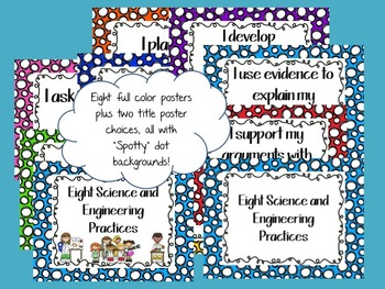 Eight Science and Engineering Practices: Spotty Dots version