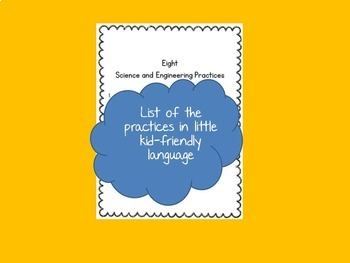 Eight Science and Engineering Practices for Little Kids