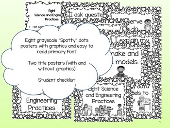 Eight Science and Engineering Practices for Little Kids: Spotty Dots version