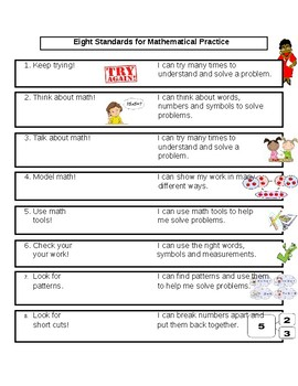 Eight Standards for Mathematical Practice