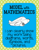 Eight Standards for Mathematical Practice Posters - Blue &