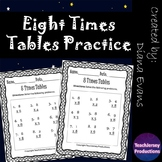 Eight Times Tables Practice