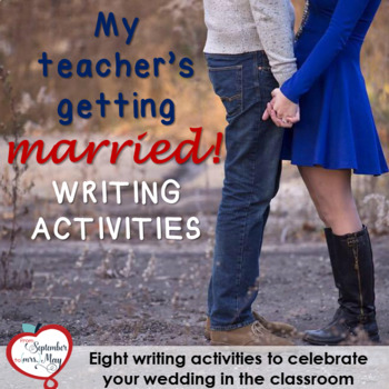 Eight Wedding, Bridal Shower NO PREP Writing Activities