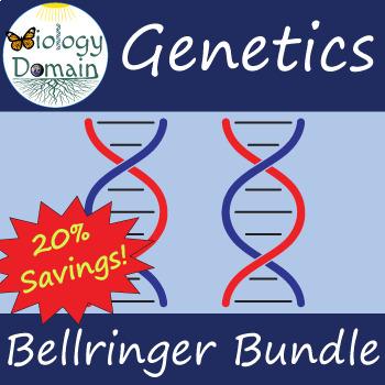 Eight weeks of Genetics Bellringers Warm Ups with Answer Key Bundle