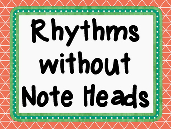 Eighth-Dotted Quarter Note Flashcards