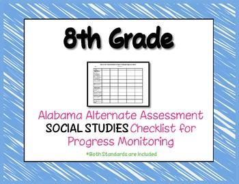 Eighth Grade AAA Social Studies Checklist Progress Monitoring