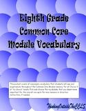 Eighth Grade Common Core Module Vocabulary