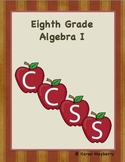 Eighth Grade Common Core Planning Template and Organizer for Algebra I (Word)