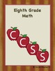 Eighth Grade Common Core Template and Organizer Traditional Math Package