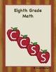 Eighth Grade Common Core Template and Organizer Traditiona