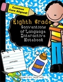 Eighth Grade Language Conventions Interactive Notebook (Common Core Aligned)