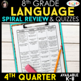 8th Grade Language Homework 8th Grade Daily Language Spira