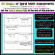 8th Grade Math Assessments | Weekly Spiral Assessments for ENTIRE YEAR