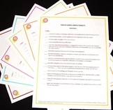Eighth Grade Math Core Posters-Set of Six - With Free Checklists