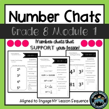 Eighth  Grade Math Number Chats Aligned to Engage NY Module 1