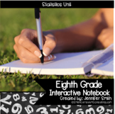 Eighth Grade Math Statistics Interactive Notebook Unit