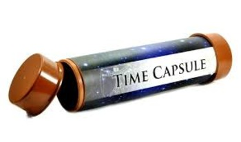 Eighth Grade Time Capsule:  An Engaging Way to Begin and E