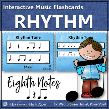 Eighth Note - Interactive Rhythm Flash Cards