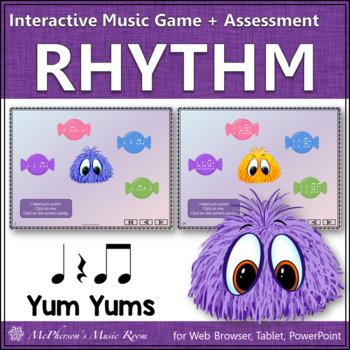 Eighth Note Yum Yums - Interactive Rhythm Game