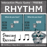 Eighth Notes Dancing Rhythm {Interactive Rhythm Game} FREEBIE