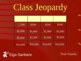 Eigo Ganbare Class Jeopardy