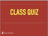 Eigo Ganbare Class Quiz