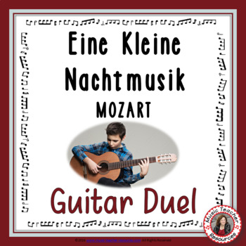 'Eine Kleine Nachtmusik' Instrumental - Guitar duel