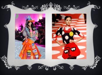 Eine Modenschau: Clothing Project